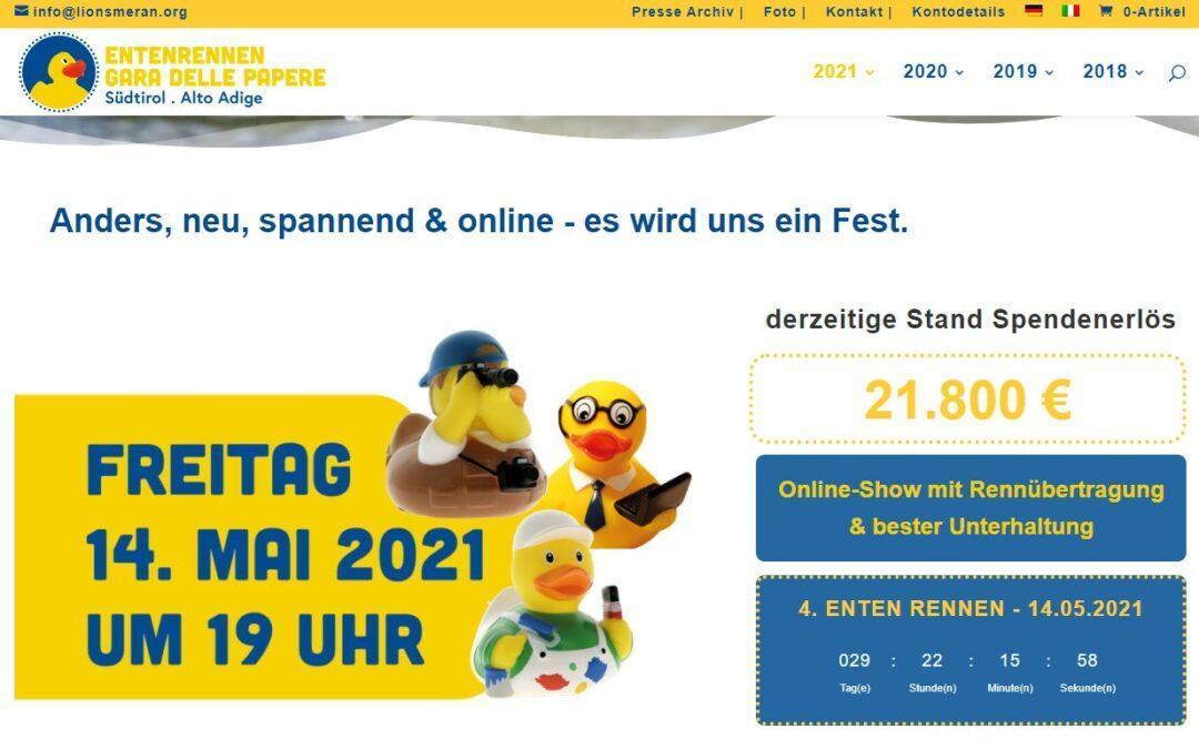 Das Entenrennen Südtirol 2021